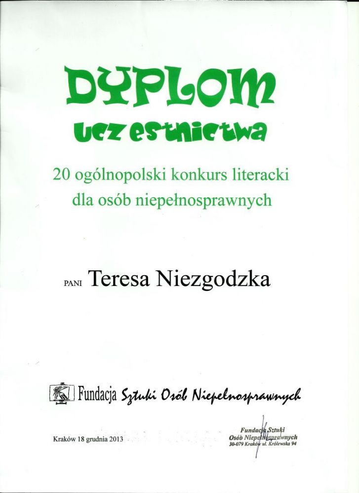 Teresa Barbara Niezgodzka